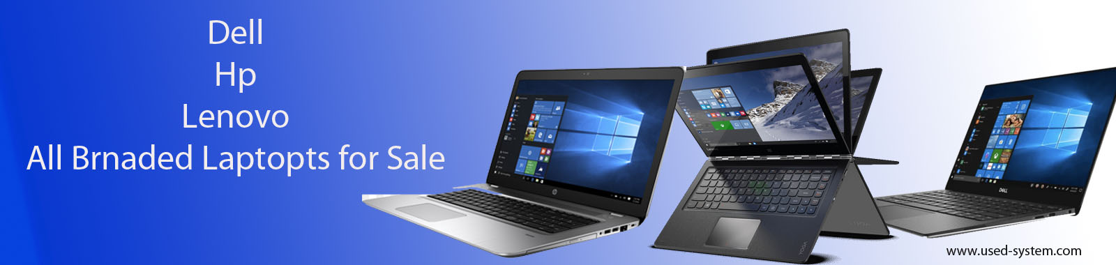 used and refurbished Systems and Laptops